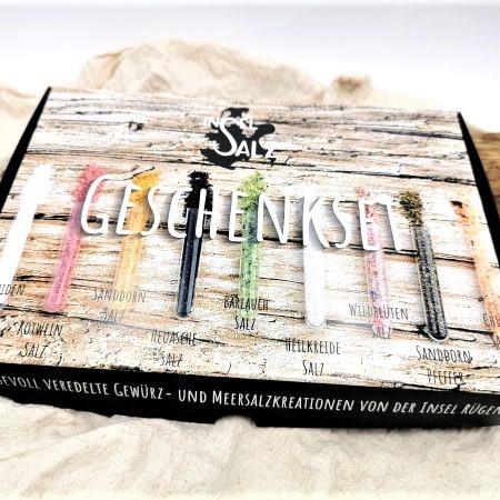 insel-salz.de - Onlineshop für Gewürzmischungen und Gewürzsalze - - Geschenkset