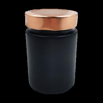 insel-salz.de - 1 x Schwarzes Glas (leer)