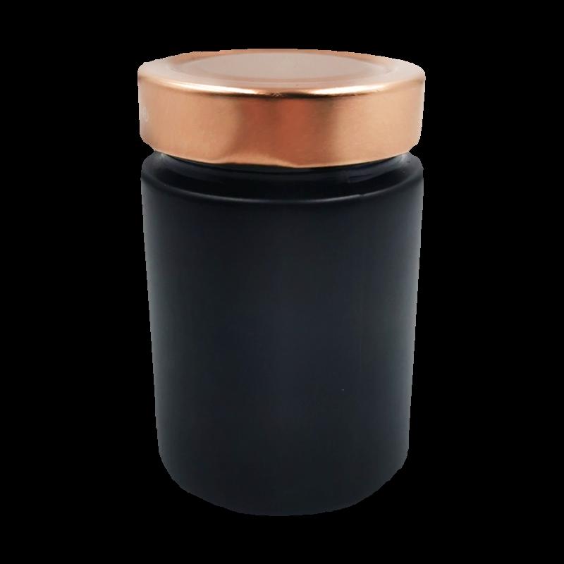 insel-salz.de - Onlineshop für Gewürzmischungen und Gewürzsalze - 1 x Schwarzes Glas (leer)